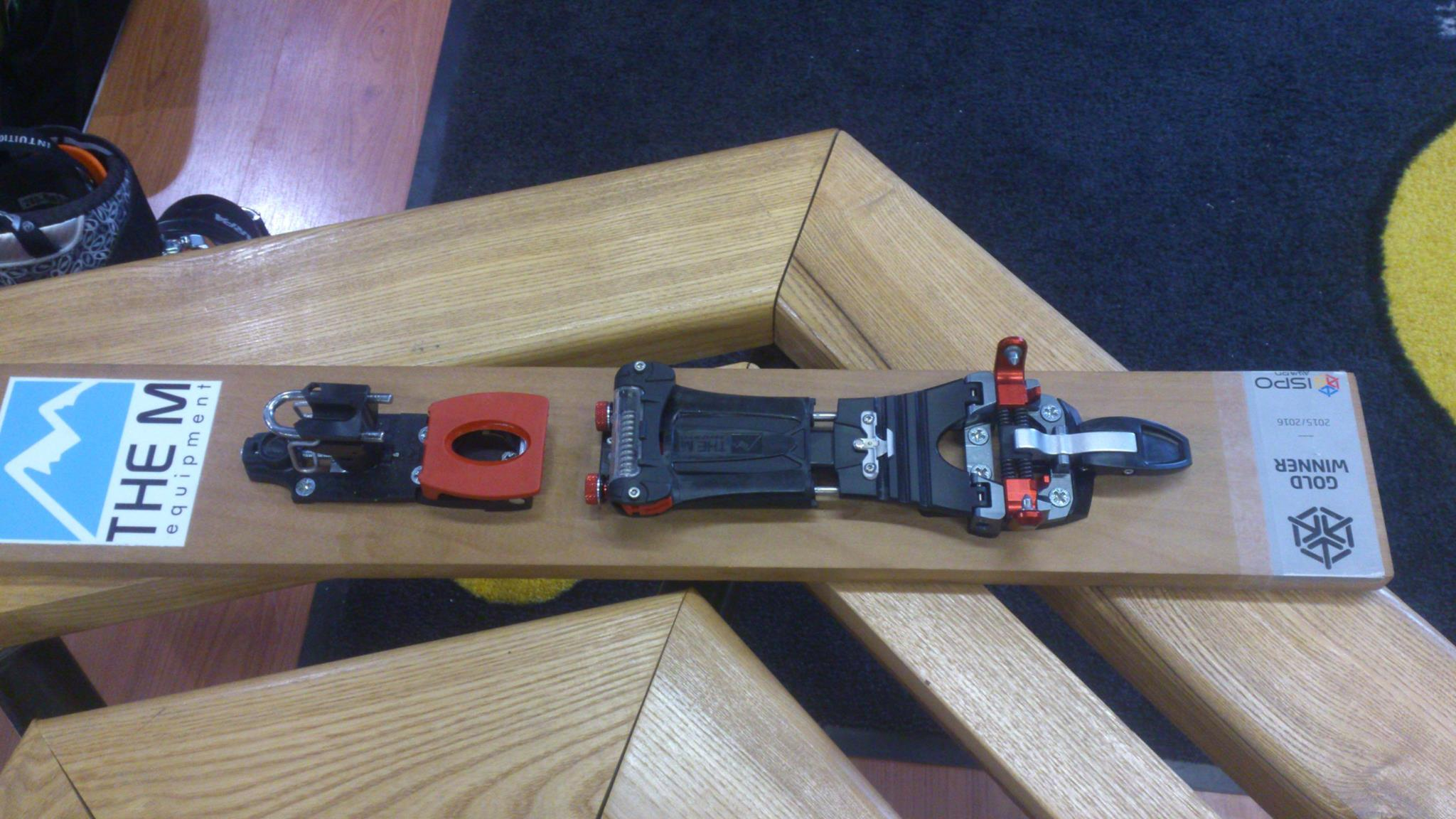 how to move front ski binding