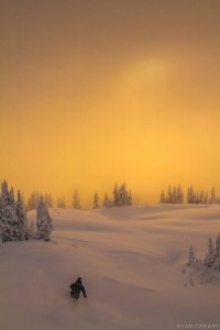sunset stephane ski